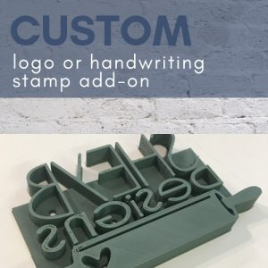 custom concrete stamp add on