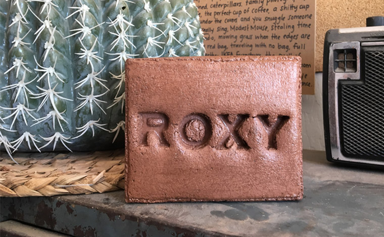 roxy stamped brick