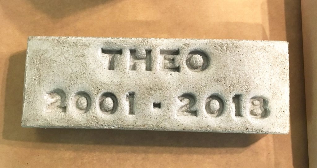 theo 2001-2018 stamped brick